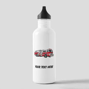 Fire Truck (Custom) Water Bottle