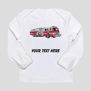 Fire Truck (Custom) Long Sleeve T-Shirt