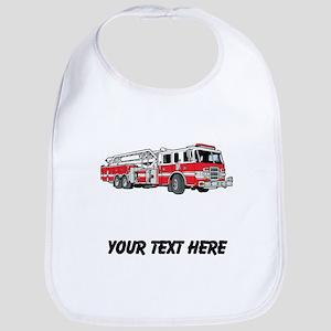 Fire Truck (Custom) Bib