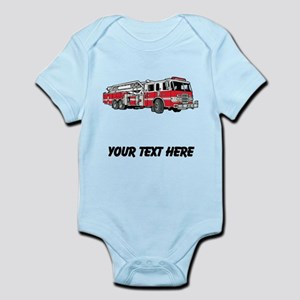 Fire Truck (Custom) Body Suit