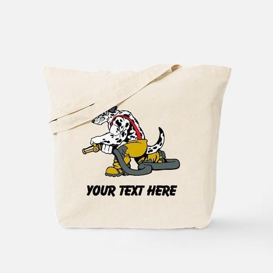 Fire Dog (Custom) Tote Bag