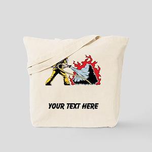 Fireman (Custom) Tote Bag