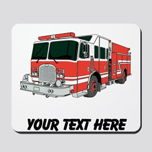 Firetruck (Custom) Mousepad