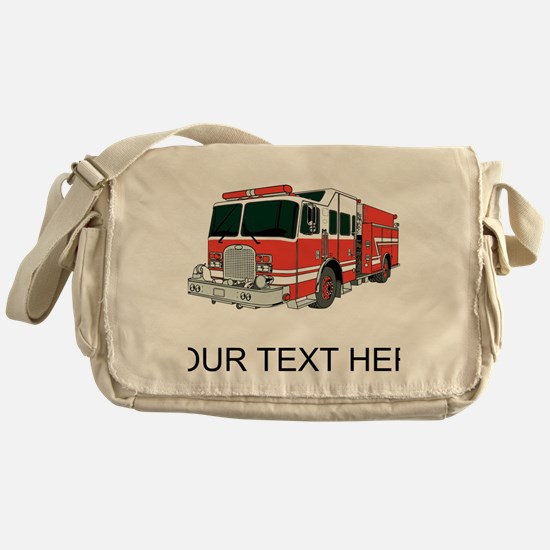 Firetruck (Custom) Messenger Bag