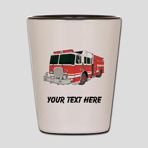 Firetruck (Custom) Shot Glass