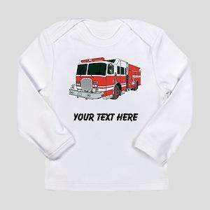 Firetruck (Custom) Long Sleeve T-Shirt