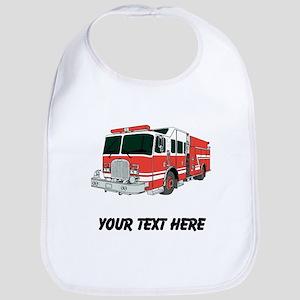Firetruck (Custom) Bib