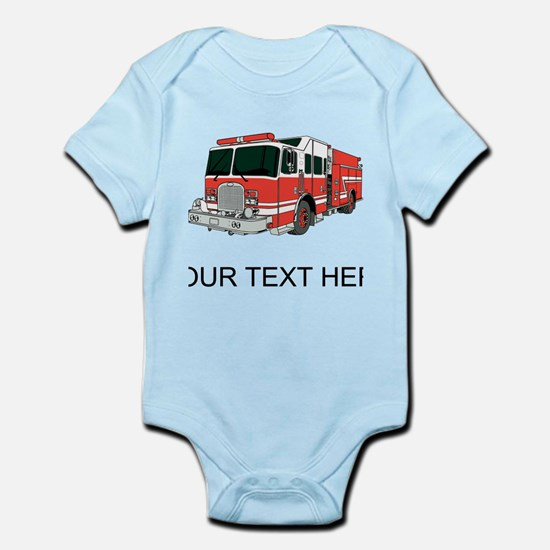 Firetruck (Custom) Body Suit