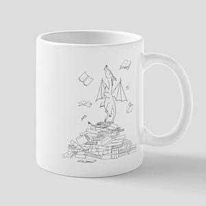 Pageturner Book Dragon Mugs