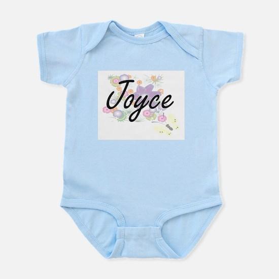 Joyce surname artistic design with Flowe Body Suit