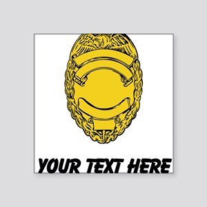 Police Badge (Custom) Sticker