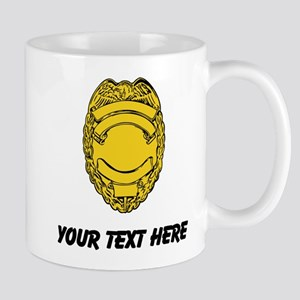 Police Badge (Custom) Mugs
