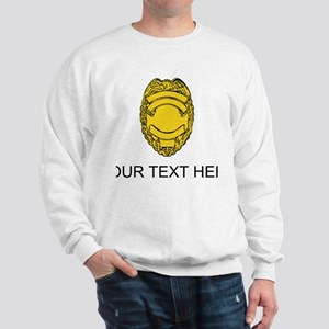 Police Badge (Custom) Sweatshirt