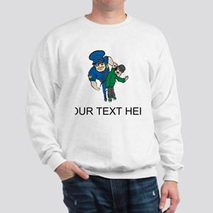 Cop Arresting Bad Guy (Custom) Sweatshirt