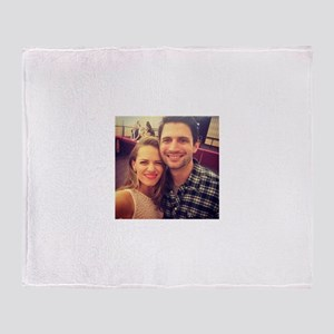 Nathan and haley Throw Blanket