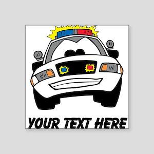 Cartoon Police Car (Custom) Sticker