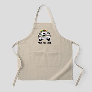 Cartoon Police Car (Custom) Apron