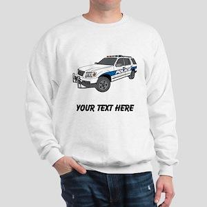Police Car (Custom) Sweatshirt