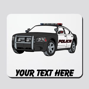Police Car (Custom) Mousepad
