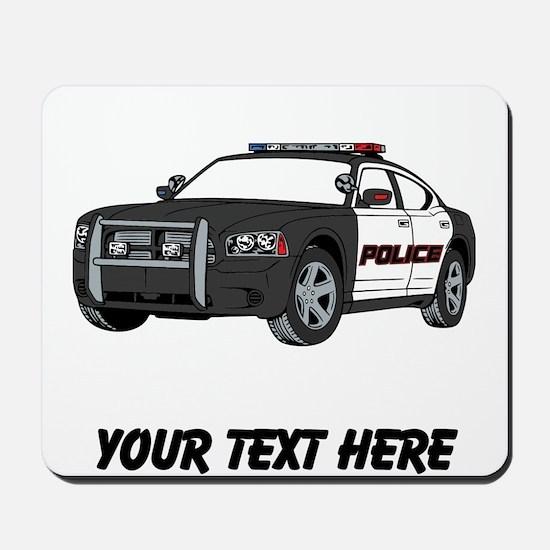Police Car (Custom) Mousepad