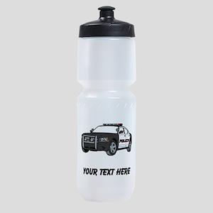 Police Car (Custom) Sports Bottle