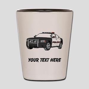 Police Car (Custom) Shot Glass