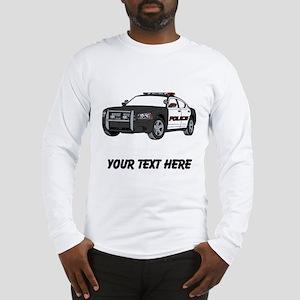 Police Car (Custom) Long Sleeve T-Shirt
