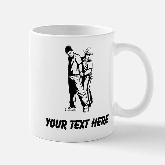 State Trooper Arrest (Custom) Mugs