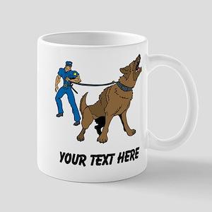 Police K9 Unit (Custom) Mugs