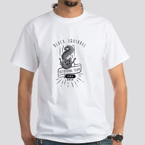 Black Squirrel Skydiving T-Shirt