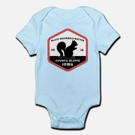 Black Squirrels Matter CB Body Suit