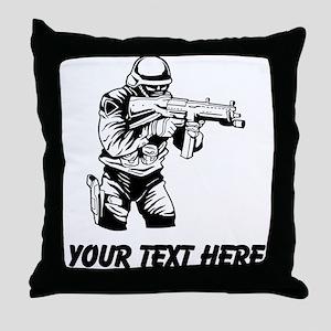 Police SWAT (Custom) Throw Pillow