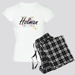 Holman surname artistic des Women's Light Pajamas