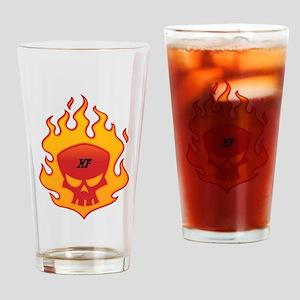 HellFire Logo Drinking Glass