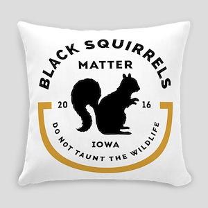 Black Squirrels Matter Iowa Everyday Pillow