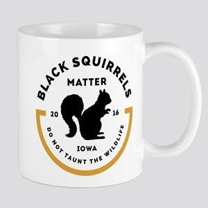 Black Squirrels Matter Iowa Mugs