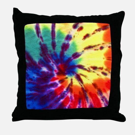 Tie-Dyed Throw Pillow