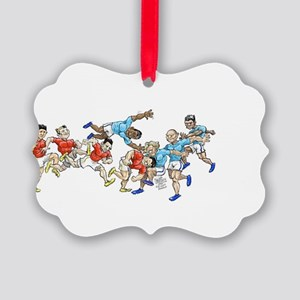 Game time. Picture Ornament