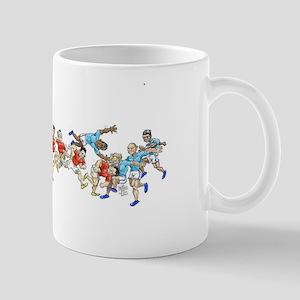 Game time. Mugs