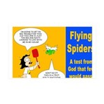 Flying Spider Test 35x21 Wall Decal