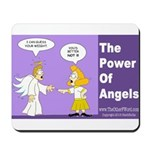 The Power of Angels Mousepad