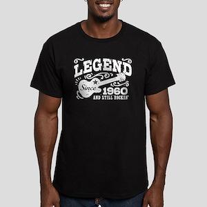 Legend Since 1960 Men's Fitted T-Shirt (dark)