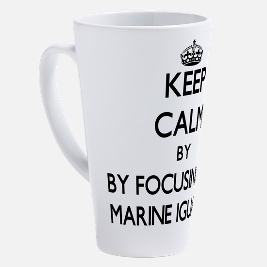 Cute Marine animal 17 oz Latte Mug