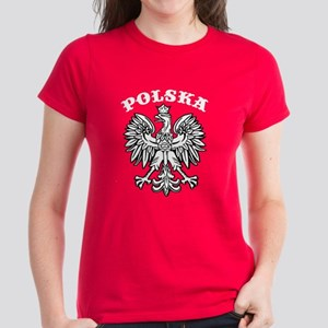 Polska Eagle Women's Dark T-Shirt