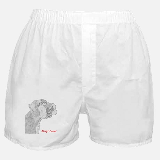 Boxer Lover drawing Boxer Shorts