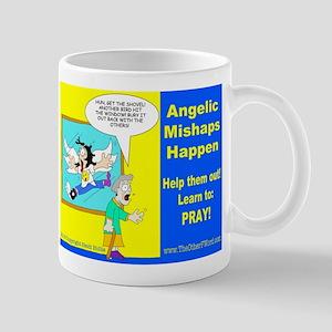 Angelic Mishaps Mugs