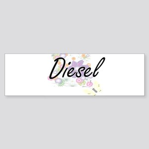 Diesel surname artistic design with Bumper Sticker