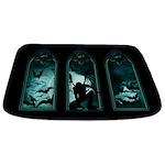 Gothic Bat Windows Bathmat