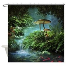 Enchanted Pond Shower Curtain