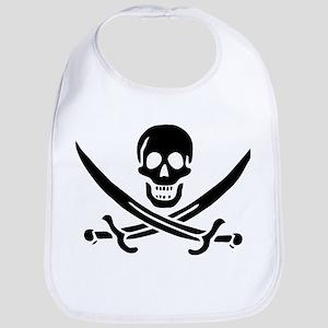 Pirates Logo Flag Bib